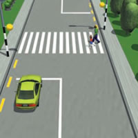 Picture of a pedestrian crossing