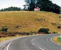 Picture of a chip-seal road